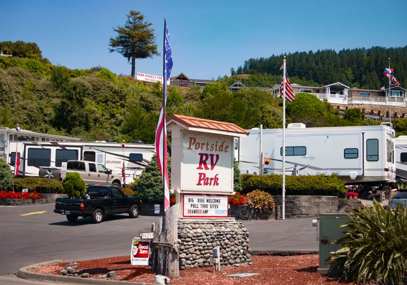 Portside RV Park Oregon